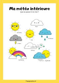 météo des émotions