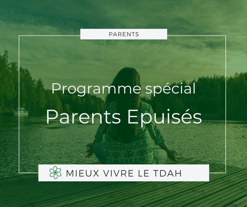 coaching épuisement parental